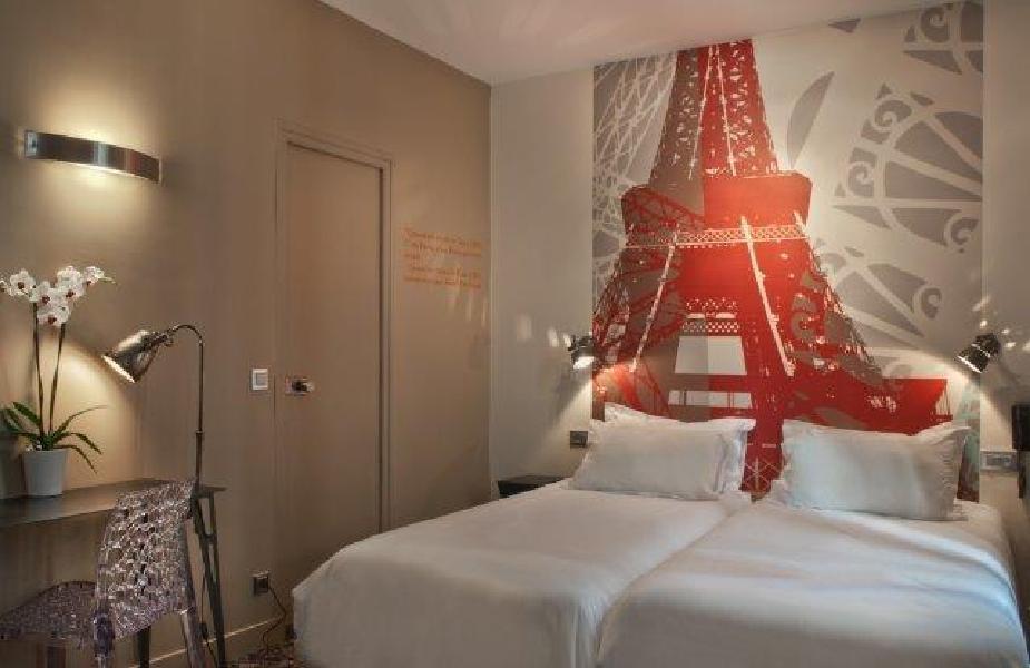 Hotel alpha paris tour eiffel boulogne billancourt for Design hotel alpha paris tour eiffel