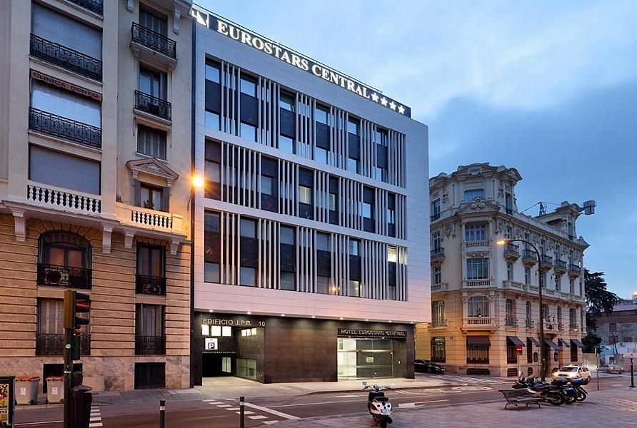 Hotel eurostars central madrid Best hotels in central madrid
